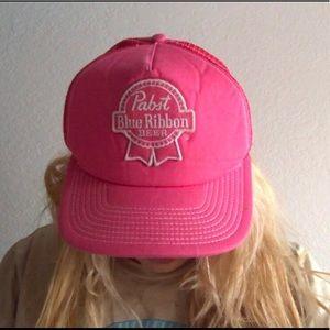 Vintage pink PBR hat